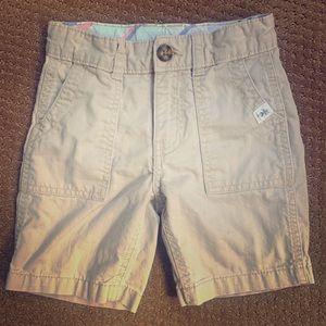 Boys Khaki 3T Shorts (Carter's)